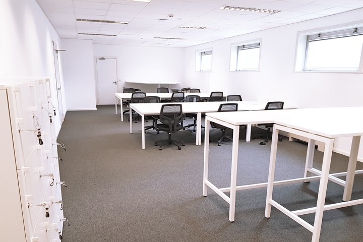 Co.Station Office | A flexible office in Charleroi
