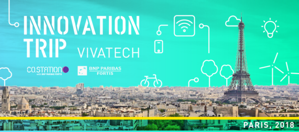 Co.Station and BNP Paribas organized an innovation trip to Paris