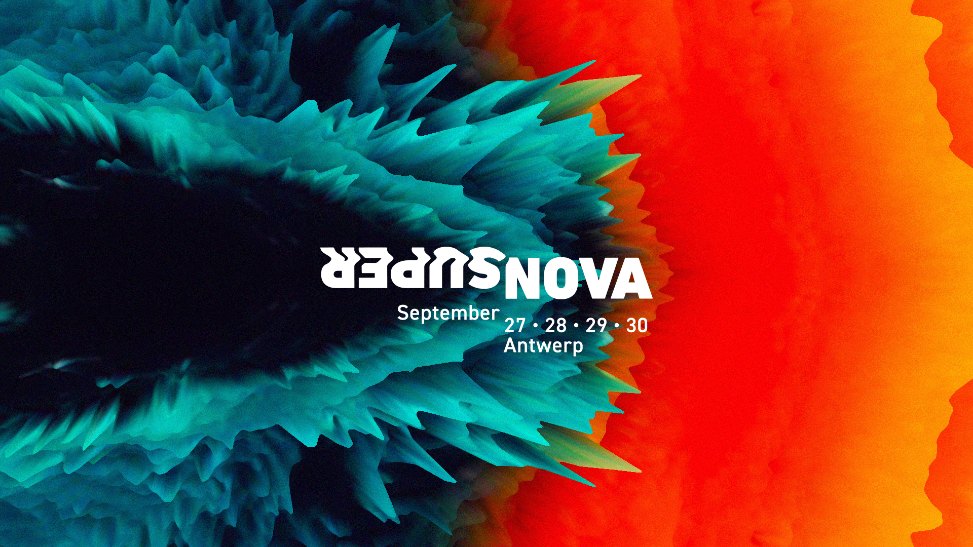 SuperNova, one of Europe's biggest tech summits・September 27-30・Antwerpen