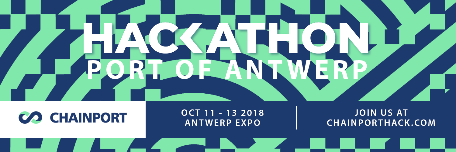 Chainporthack - Hackathon Port of Antwerp・October 11-13 ・Antwerp