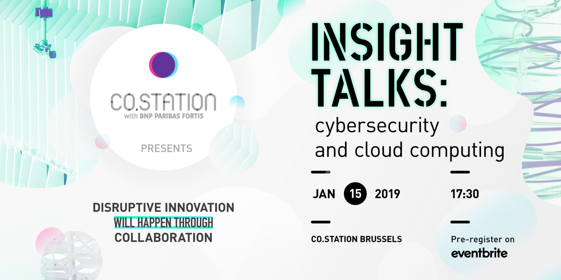 Co.Station innovation Programs Insight Talk | Cyber Security and Cloud Computing