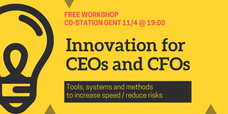 Co.Station Events | Workshop: Innovation for CEOs and CFOs
