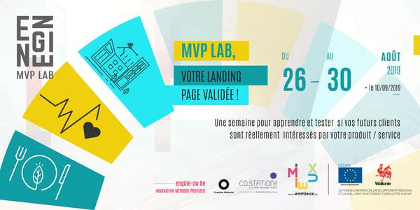 Co.Station Events  MVP LAB #7 : A week to challenge your startup project