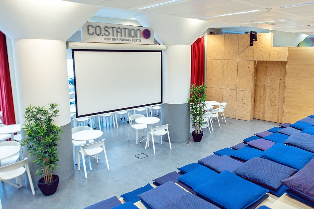 Co.Station Villages | A tech coworking in Brussels