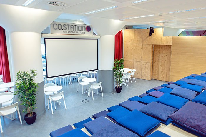Co.Station | A coworking place in Brussels