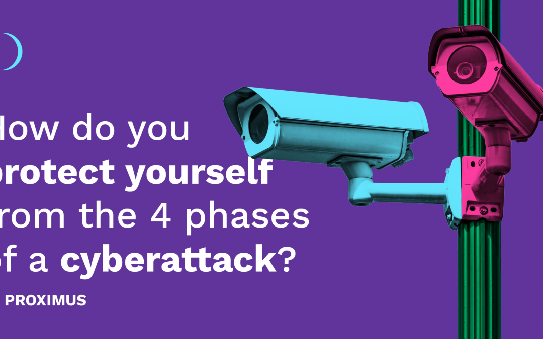How do you protect yourself from the 4 phases of a cyberattack? by Proximus